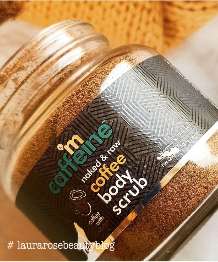 M Caffeine Naked & Raw Coffee Body Scrub