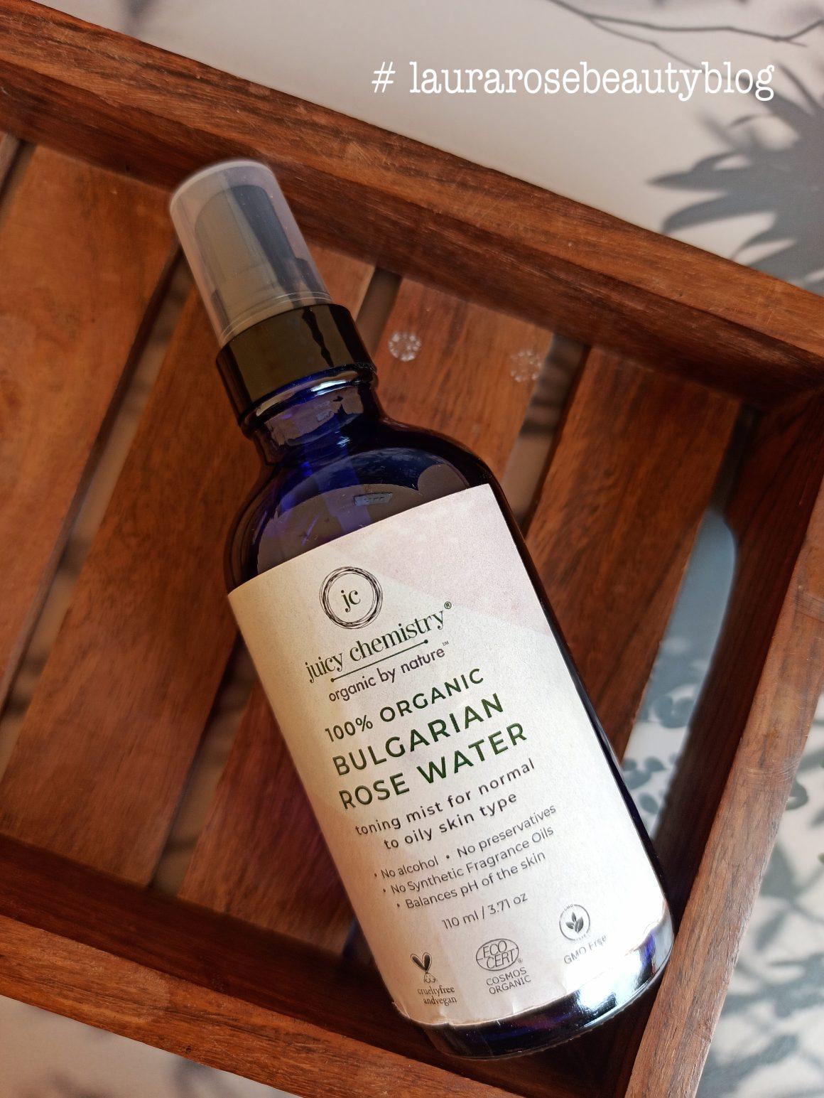 Juicy Chemistry Bulgarian Rose Water