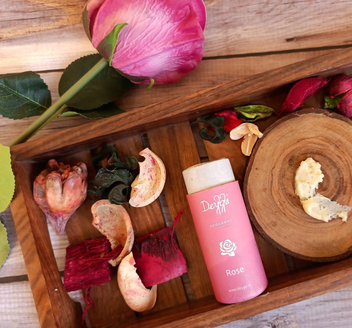 Deyga Organics Rose Deodorant