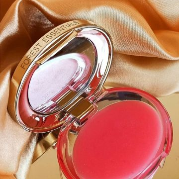 Forest Essentials Sugar Rose Petal Lip Balm